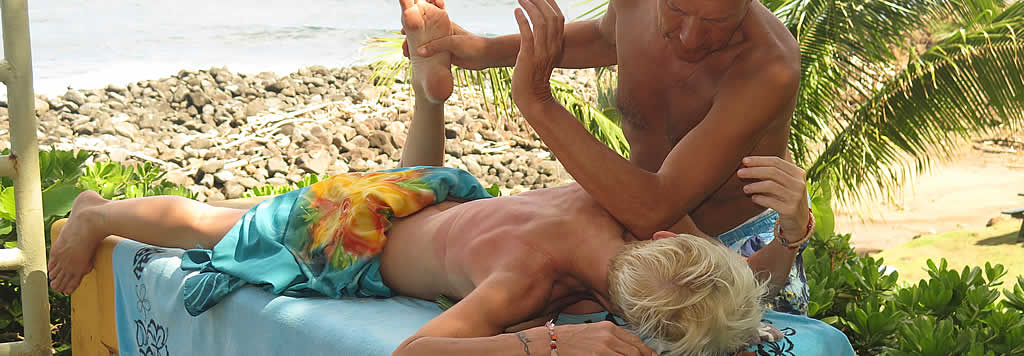 Ošetření, omlazovací rituály nebo masáže